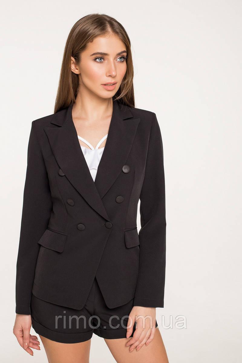 Піджак жіночий 7060 чорний