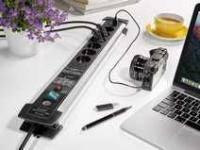 Сетевой фильтр Premium Protect Line 60 000 А; 6 розеток; USB; кабель 3 м; H05VV-F 3G1,5