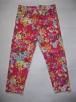 Яркие котоновые брюки для девочек (от 3 до 7 лет)