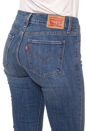 Джинсы женские Levi's 711 Skinny / W26xL30/Mid Rise/Slim trough/Hip and thigh/Оригинал, фото 3