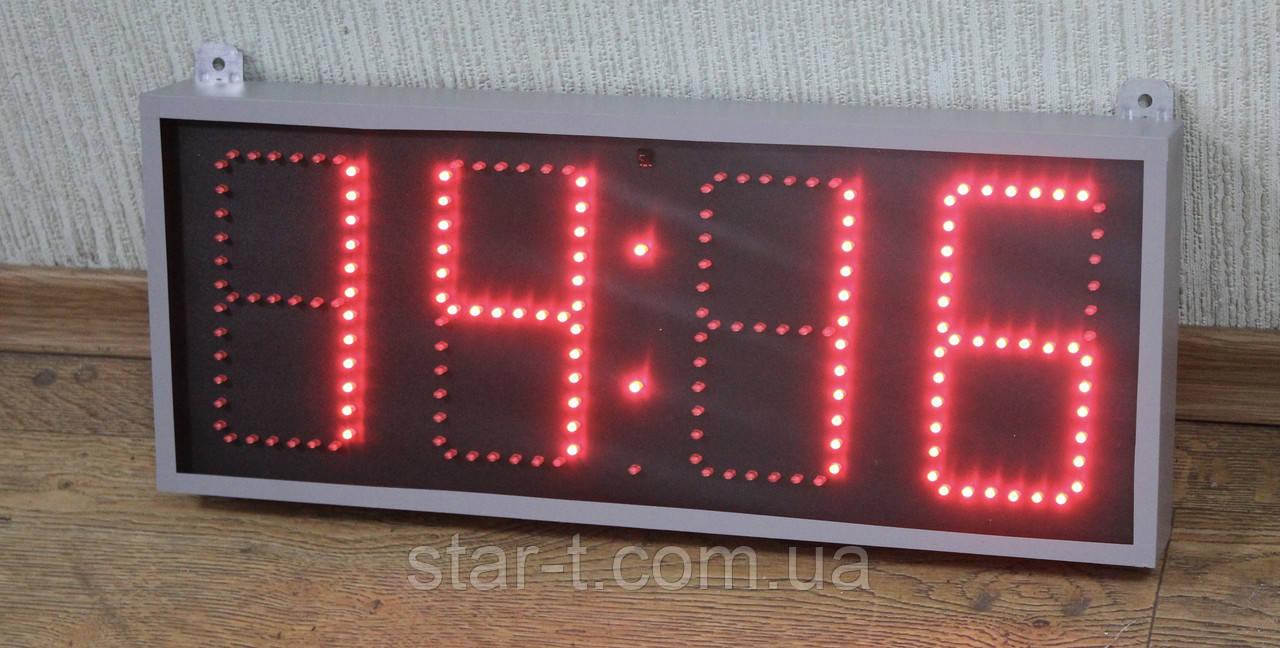 Компактные светодиодные часы