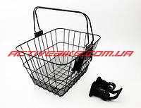 Велокорзина багажная на руль, быстросъёмная JL-CK095 (02904)