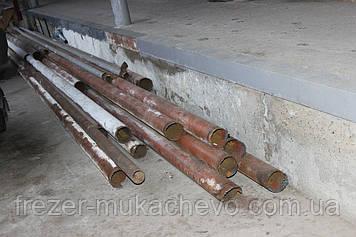 Труба профільна сталева б/у 110х5х3500