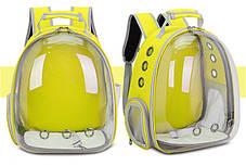 Оригинальный большой прозрачный рюкзак для транспортировки кота , фото 2