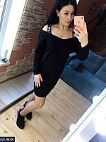 Женское платье со спущенными плечами, фото 1