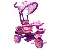 Велосипед трехколесный «Baby Club» BC-17 D Princess Фиолетовый с розовым