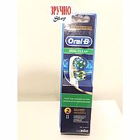 Насадки для зубной щетки Braun Oral-B EB417 Dual Clean - 2 шт., фото 1