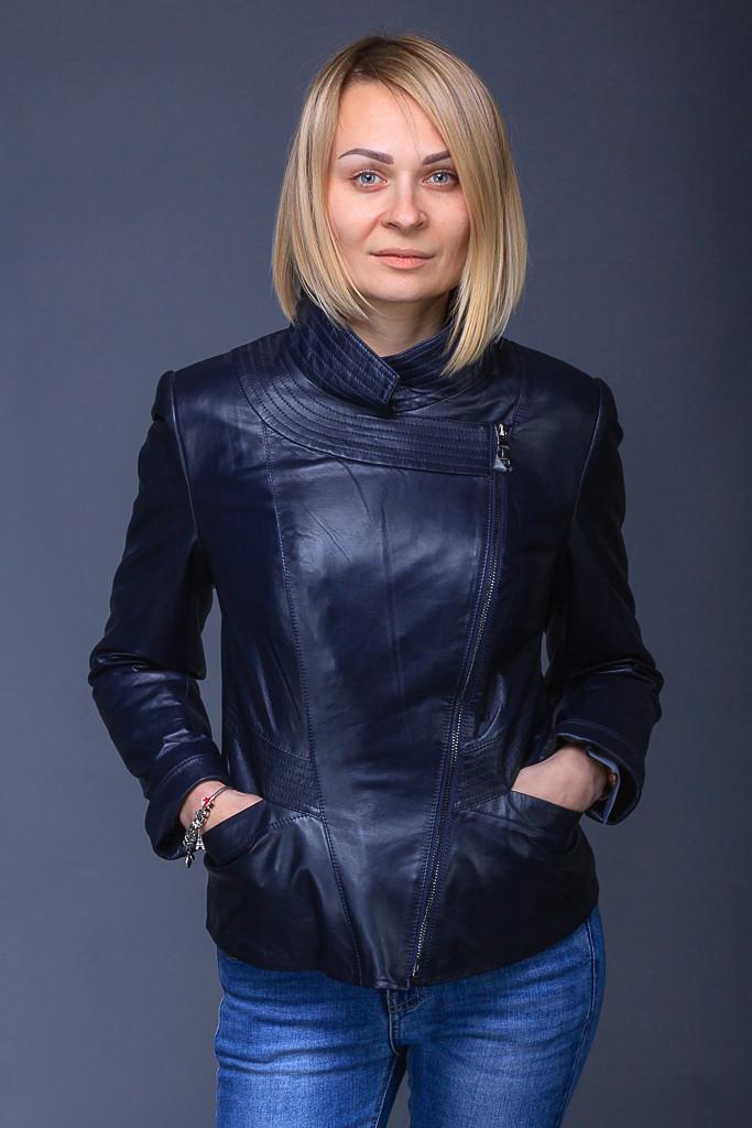 73b3308c2dd Женская кожаная куртка Drmaanco collection  продажа
