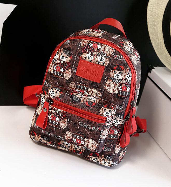 Цветные рюкзаки с принтом