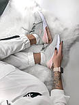 Жіночі кросівки Air Max 270 gray pink. Живе фото, фото 5