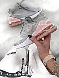 Жіночі кросівки Air Max 270 gray pink. Живе фото, фото 2