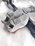 Жіночі кросівки Air Max 270 gray pink. Живе фото, фото 6