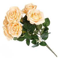 Искусственный букет розы ( 45 см ).