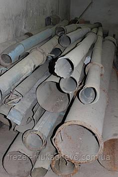 Труба профільна сталева б/у 110х5х3000