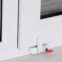 Замок безопасности оконный блокиратор створки окна детский замок BSL SASH PRIME (Baby Safe Lock) , фото 3