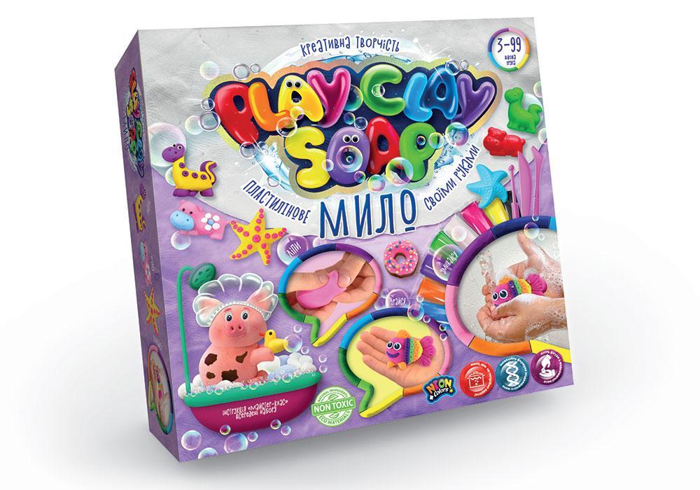 Набір Пластилінове Мило Play Clay Soap PCS-01 Данко-тойс
