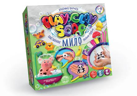 Набір Пластилінове Мило Play Clay Soap PCS-01 Данко-тойс, фото 2