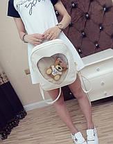 Романтичный рюкзак с прозрачным сердцем, фото 3