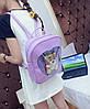 Романтичний рюкзак з прозорим серцем, фото 4