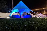 Палатка голубая, Звезда (бюджетная) 10  метровая, для отдыха по Украине, фото 1