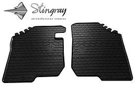 Передние резиновые коврики Kia Carens ІІІ 2006- (2 шт) Stingray 1010092