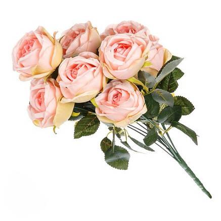 Искусственный букет розы ( 50 см )., фото 2