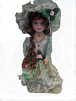 Кукла фарфоровая Кристи 40см