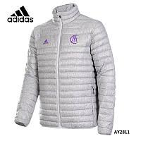 Adidas Real Madrid.Чоловіча молодіжна тонка куртка-пуховик.AY2811.