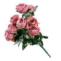 Искусственный букет розы ( 50 см ).