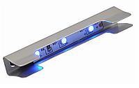 LED клипса (сталь) подсветка полок из стекла 4-8mm L 20775-03-CH-CW