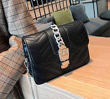 Шикарна сумка скринька з гарним дизайном, фото 3