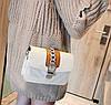 Шикарна сумка скринька з гарним дизайном, фото 4