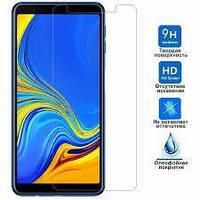 Защитное стекло Premium Tempered Glass 0.33mm (2.5D) для Samsung A7 2018, A750, фото 1