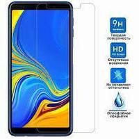 Защитное стекло Premium Tempered Glass 0.28mm (2.5D) для Samsung A7 2018, A750, фото 1