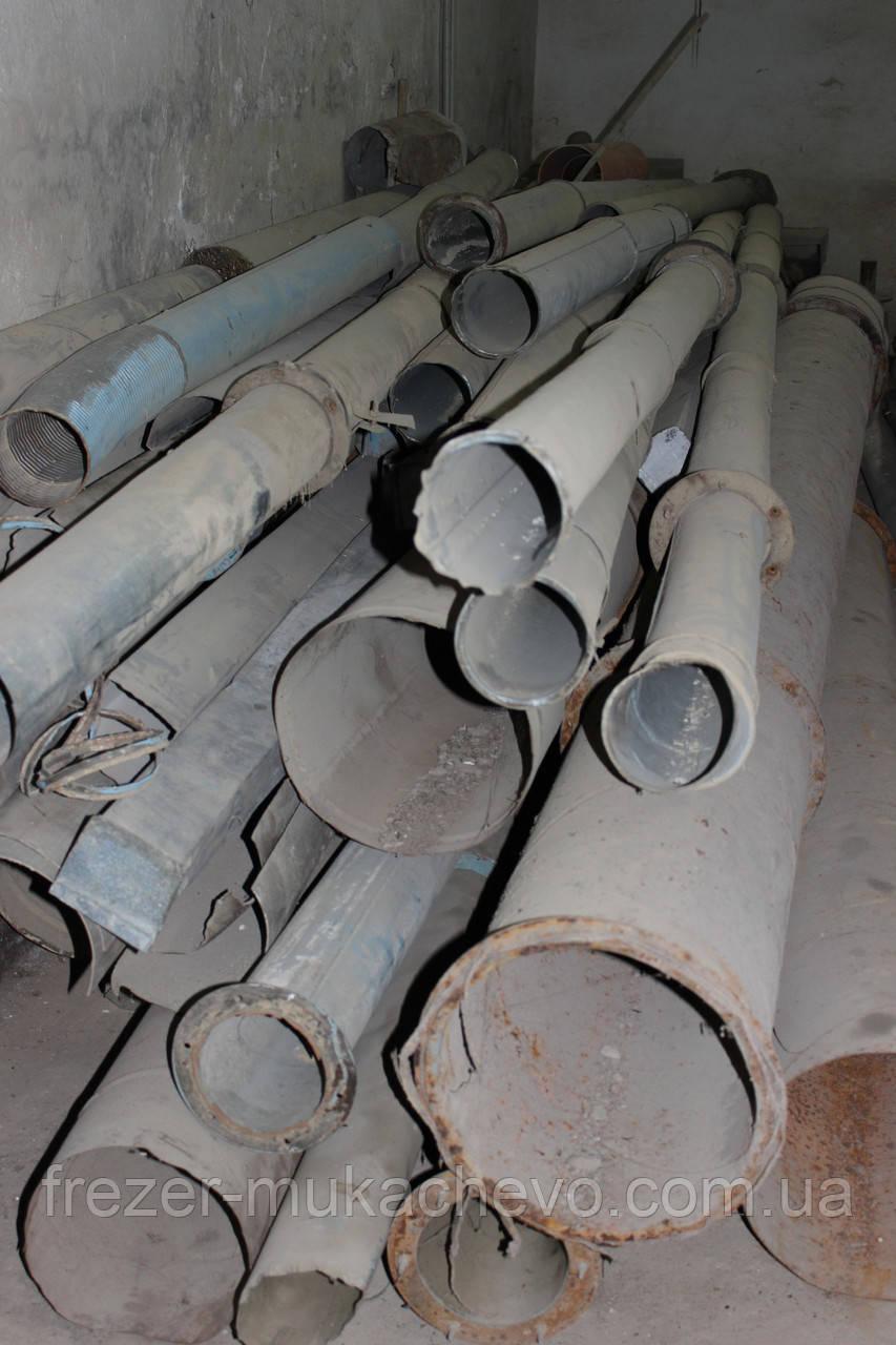 Труба профільна сталева б/у 110х5х2400
