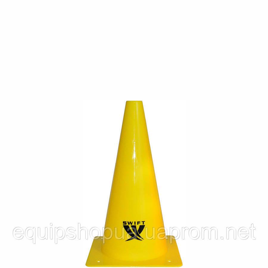Конус тренировочный SWIFT Traing cone, 23 см (желтый)