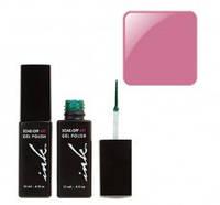 УФ гель-лак Ink с кисточкой для дизайна - лилово-розовый перл