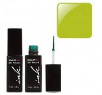 УФ гель-лак Ink с кисточкой для дизайна - салатовый перл