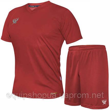 Форма футбольная Swift VITTORIA CoolTech (красная), фото 2