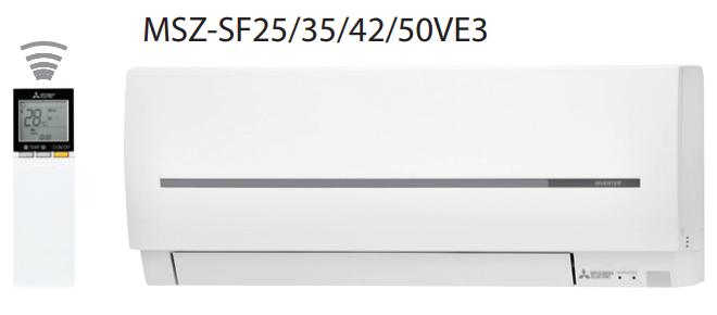 Сплит-система настенного типа Mitsubishi Electric MSZ-SF25VE2/MUZ-SF25VE