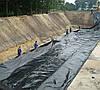 Плёнка чёрная, 80мкм, 3м/100м. полиэтиленовая (для мульчирования, строительная) - Фото