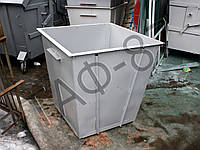 Бак ТБО 0,75 м.куб. металл 1,5 мм из демонтажного листа