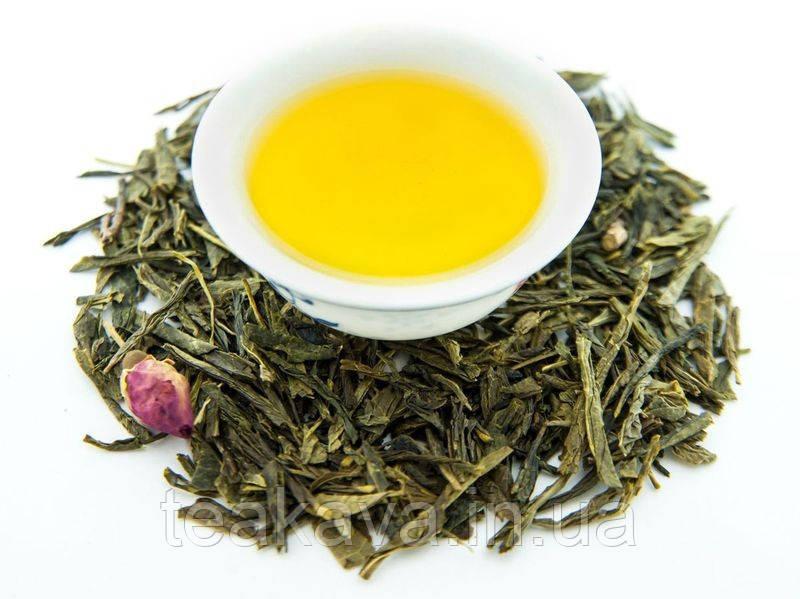 Японская сакура (зеленый ароматизированный чай), 50 грамм