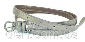 Женский ремень серебристого цвета, фото 2
