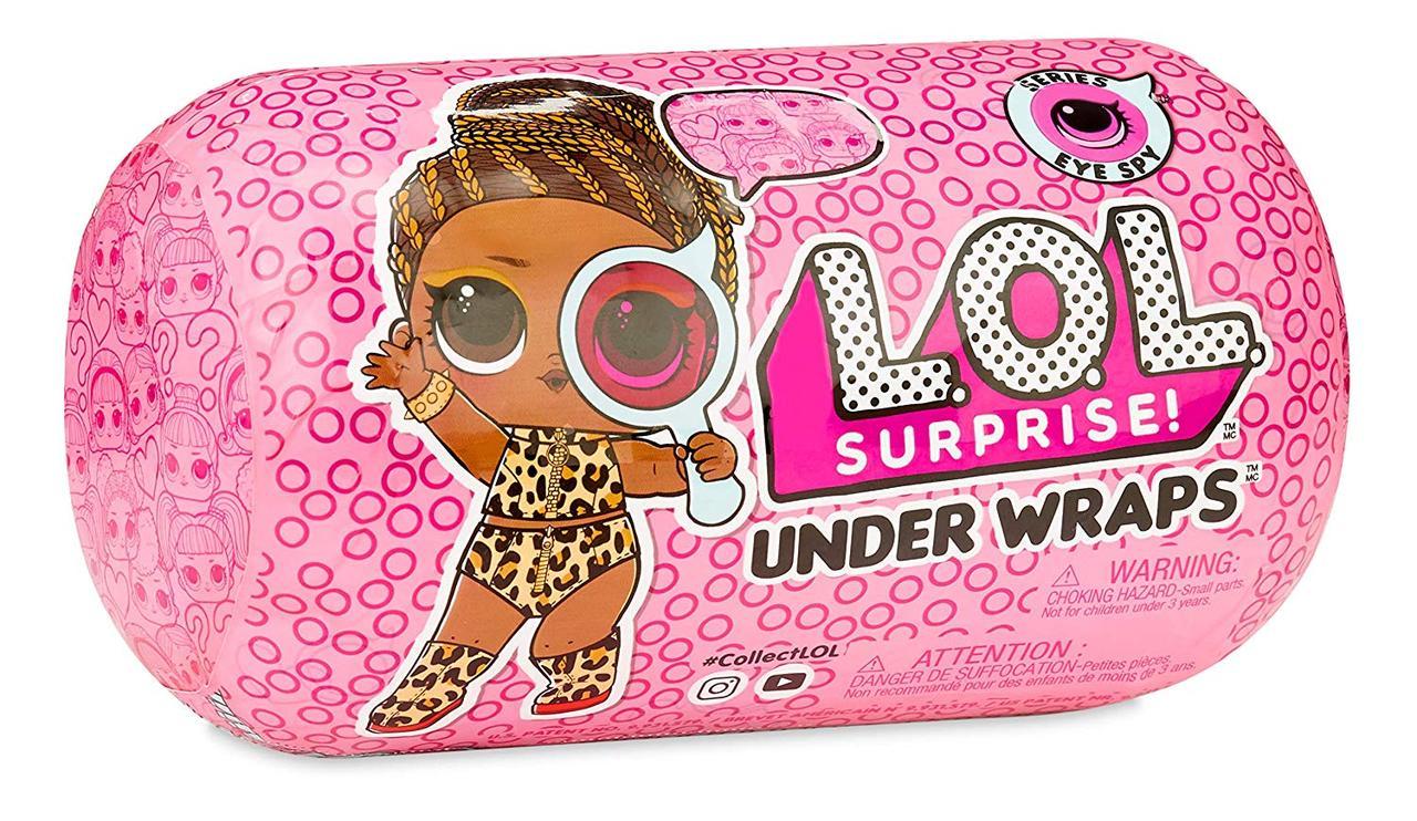 Лол капсула декодер 2 серия LOL Surprise Under Wraps Series Eye Spy 2A Оригинал MGA