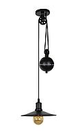 Стильный черный подвес в стиле loft LV 7079204-1 BK