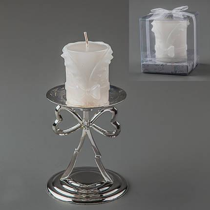 Свадебная свеча 6 см (025Q), фото 2