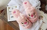 Тапочки Розовая пантера , тапочки игрушки, тапочки кигуруми, тапочки для дома, тапочки іграшки, тапочки кигуруми, тапочки для дому