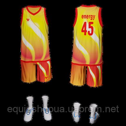 Баскетбольна форма 5 ENERGY, фото 2