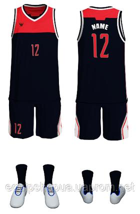 Баскетбольная форма SPLIT, фото 2